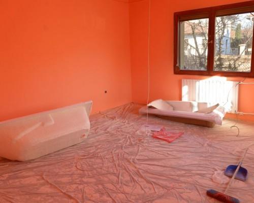 Секреты качественной покраски стен