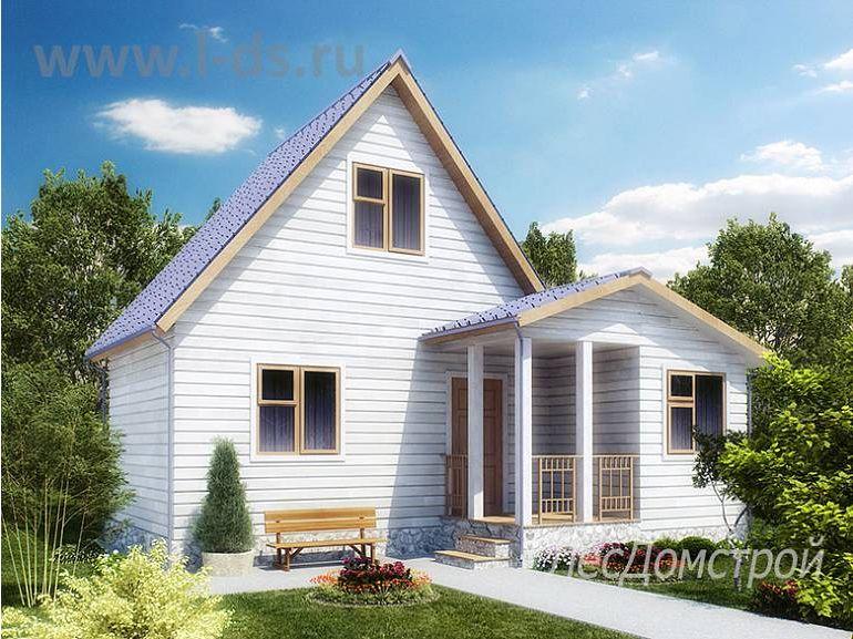 Каркасный дом Коломна