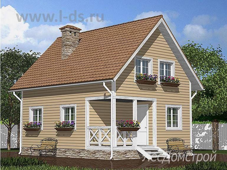 Дом из бруса Яуза