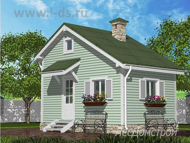 Каркасный дом Июнь